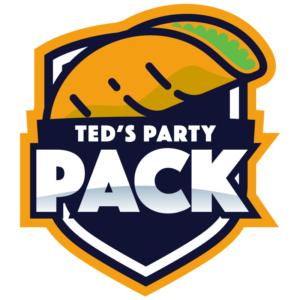 Ted's Party Pack logo
