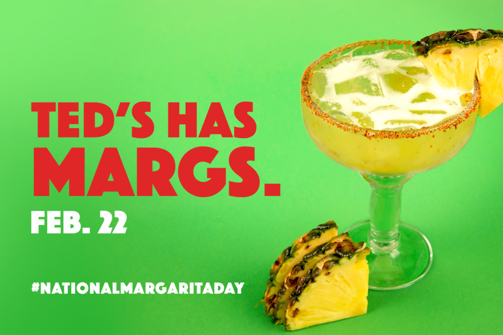National Margarita Day is Feb. 22