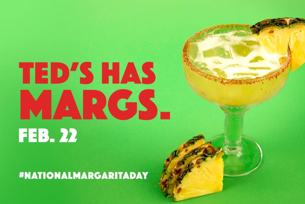 National Margarita Day is Feb. 22