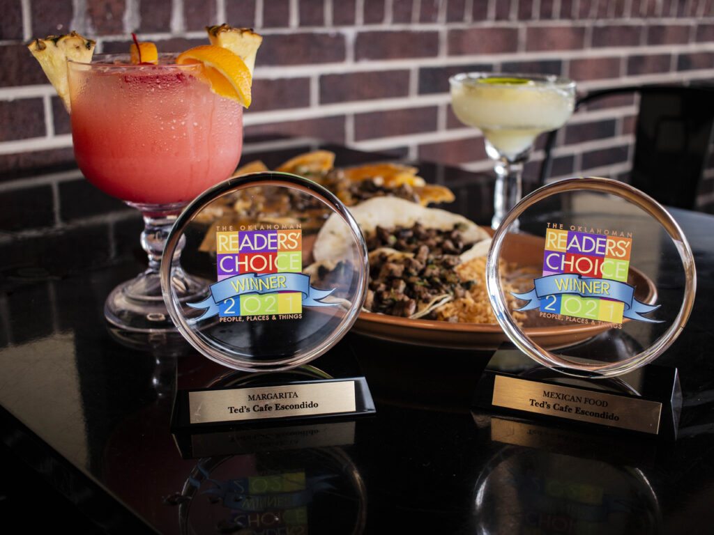 Ted's Cafe Escondido wins two awards from The Oklahoman Readers' Choices Awards